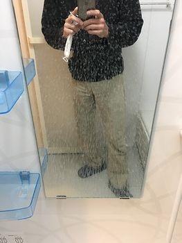 鏡のウロコ汚れ