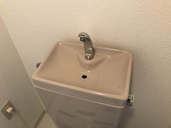 トイレ掃除後